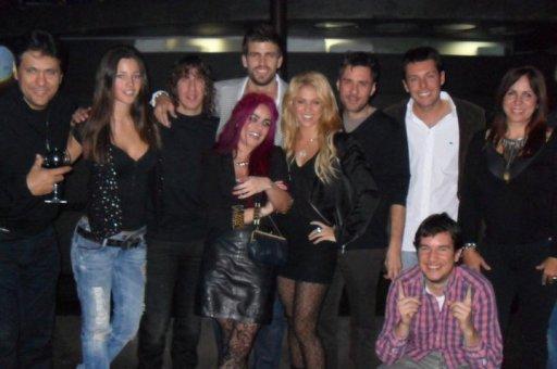 Gerard Piqué y Shakira celebran juntos su cumpleaños. El estilo de la cantante