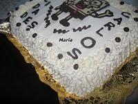 Tarta de Bob esponja cumpleaños de Carlos