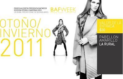 BAFWEEK Otoño/Invierno 2011