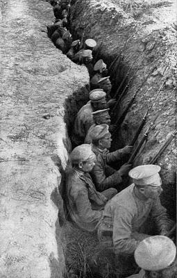 Atrapados entre trincheras