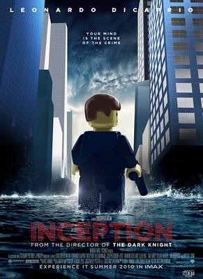 Cartelera de cine: version LEGO
