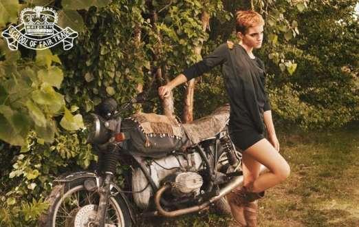Emma Watson, diseñadora e imagen de People Tree, Primavera/Verano 2011