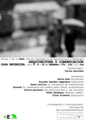 BIAU. Taller 1: arquitectura y comunicación