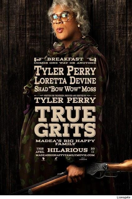 'Madea's Big Happy Family' parodia pósters de nominadas al Oscar