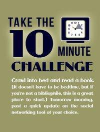 Campaña Save Publishing: Lee 10 minutos antes de dormir