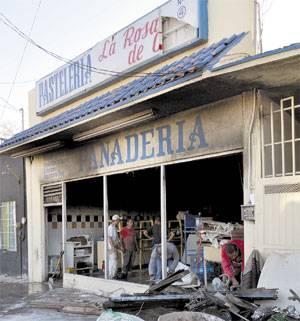 Queman una panadería en Ciudad Juárez