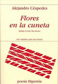 Flores en la cuneta, por Alejandro Céspedes