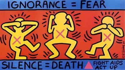 Keith Haring: Simples líneas.
