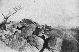 La primera batalla de Keren - 08/02/1941.