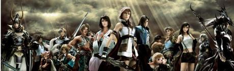 Dissidia Duodecim cosmos team 1024x316 Dissidia Duodecim: Final Fantasy: Equipos definitivos de Chaos y Cosmos