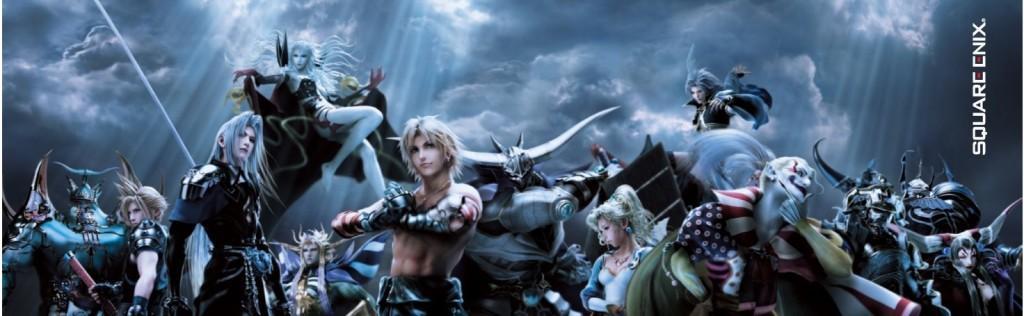 Dissidia Duodecim chaos team 1024x316 Dissidia Duodecim: Final Fantasy: Equipos definitivos de Chaos y Cosmos