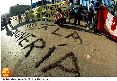 Reprimidas protestas contra minería en Panamá (+ audio)