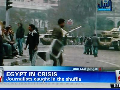 ¿Quien está detrás de la sublevación de Egipto?