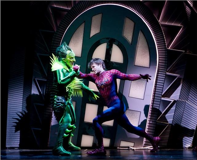 Spider-Man: Turn Off the Dark la obra teatral, imágenes previas