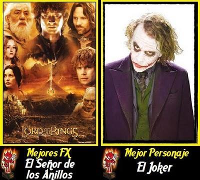 Premios Angeles Caidos de la Década (2001-2010)
