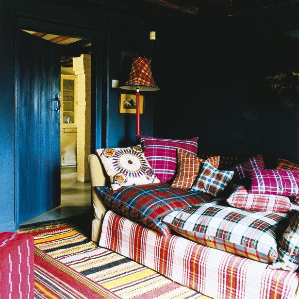 10 ideas para dar un aire retro a tu salón