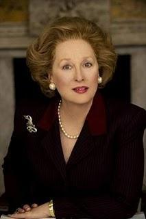Impresionante caracterización de Meryl Streep como Margaret Tatcher