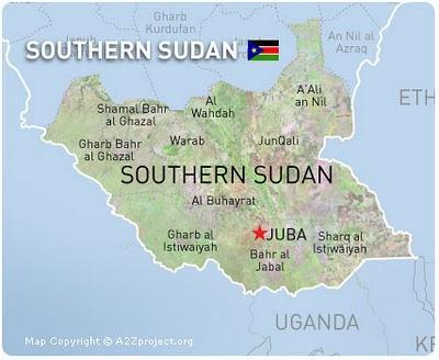 Un nuevo país Sudán del sur, los mismos ojos mirando