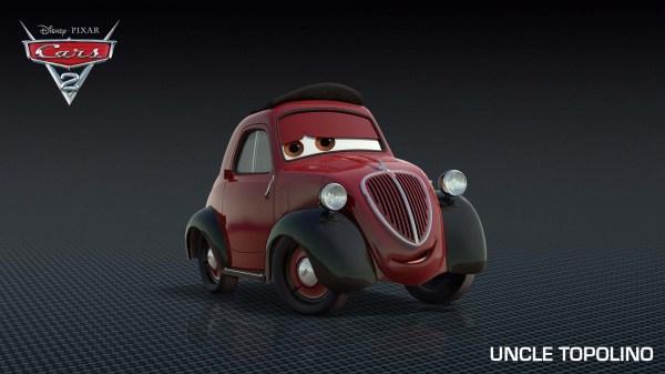 Siguen saliendo personajes de Cars 2