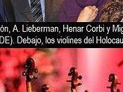 Violines judíos Holocausto vuelven sonar para nadie olvide
