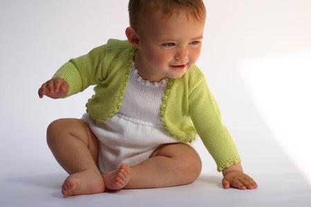 Alma Llenas, moda bebé en tricot