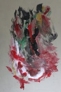 Una obra de arte por la Sra. Chelita Cornejo de Tejada