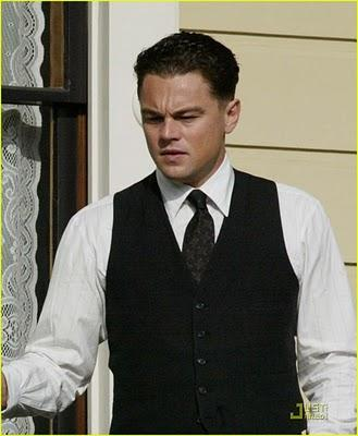 Primeras fotos de DiCaprio en el rodaje de 'J. Edgar'