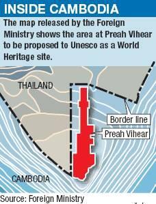 ¿Qué pasa entre Thailandia y Camboya?