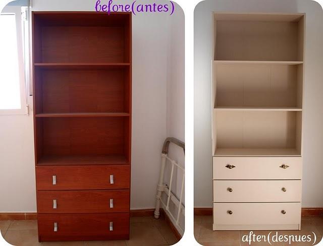 Antes y Después de los muebles de la habitación de Marta - Paperblog