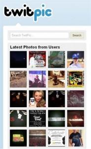 Twitpic permite subir y compartir vídeos