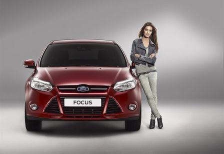 Sara Carbonero imagen del nuevo  Ford Focus