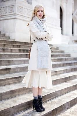 ¿Cómo lucir en invierno los vestidos de verano?