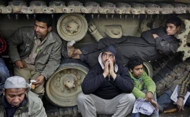 Egipto: cúpula militar asume protagonismo ante posible renuncia de Mubarak
