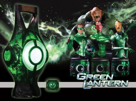 Green Lantern-The Movie-Mas mercadotecnia