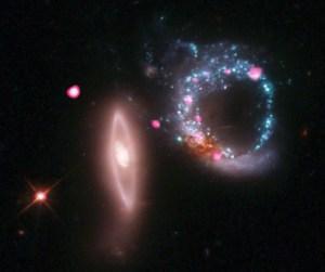 Chandra captura un anillo de agujeros negros