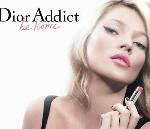 Kate Moss para Dior Addict