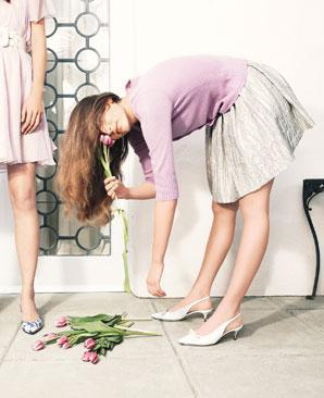 Dolce and Gabbana slingbacks