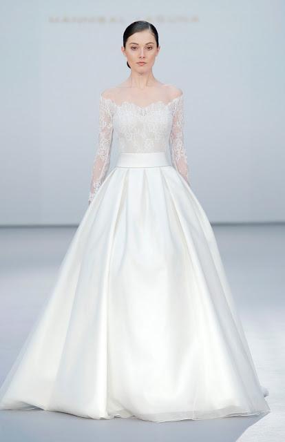 e7996dbd9 Vestido de novia de Hannibal Laguna 2017