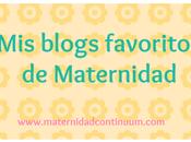 blogs favoritos maternidad: 10-16 octubre 2016
