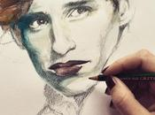 Susana Miranda, dibujando galgos