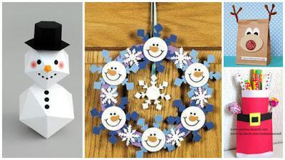 Manualidades adornos y regalos navide os con papel paperblog - Adornos de navidad con papel ...