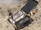Hombre dice iPhone incendió dentro auto