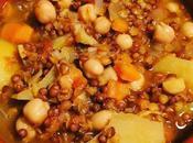 Harira sopa legumbres marroquí