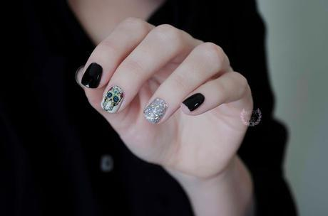 ♔ Manimonday -  Calaveras - Nail art❀