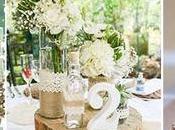 Decoración para boda cuidando hasta mínimo detalle