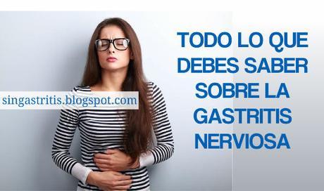 Puede dar gastritis por nervios