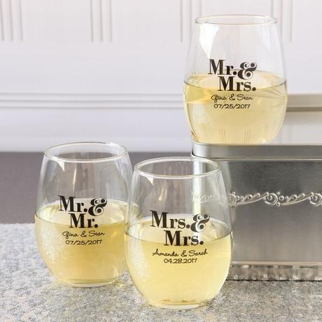 Vasos personalizados para bodas paperblog - Vasos personalizados ...