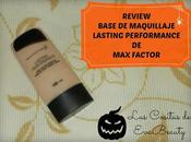 Review Base maquillaje Lasting Perfomance Foundation Factor