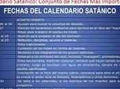 Calendario Satánico: Conjunto Fechas Importantes Para Satanistas