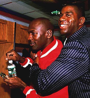 Cuando Michael Jordan pudo haber sido Magic Jordan